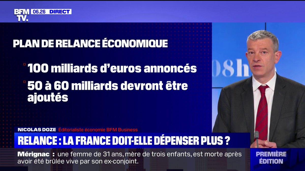La France doit-elle dépenser plus pour relancer son économie ?