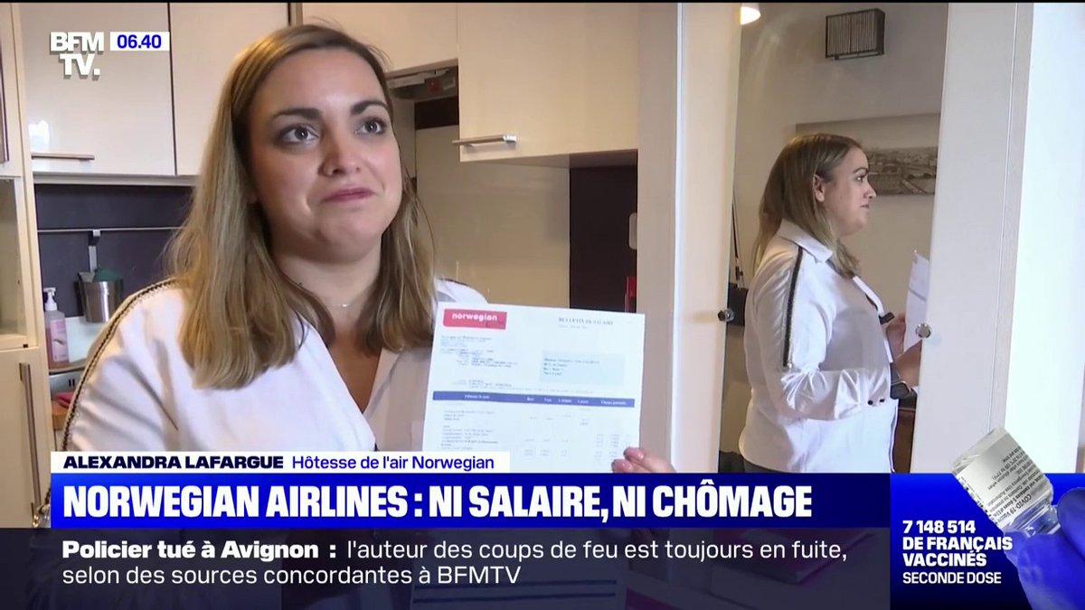 266 employés français de Norwegian Airlines ne perçoivent ni salaire, ni chômage depuis plus....