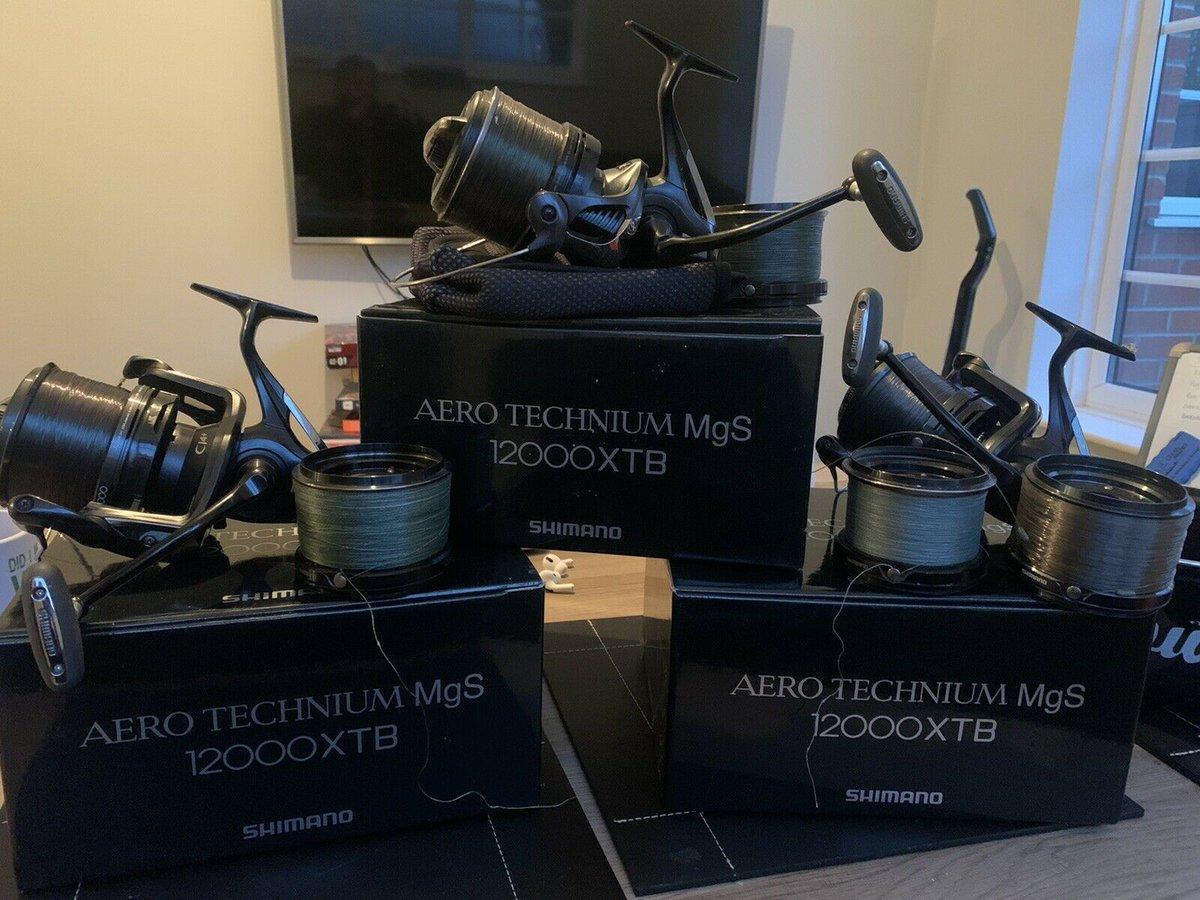 Ad - Shimano Aero Technium MgS 12000 XTB x3 On eBay here -->> https://t.co/D9aCE3NmwA  #carpfi