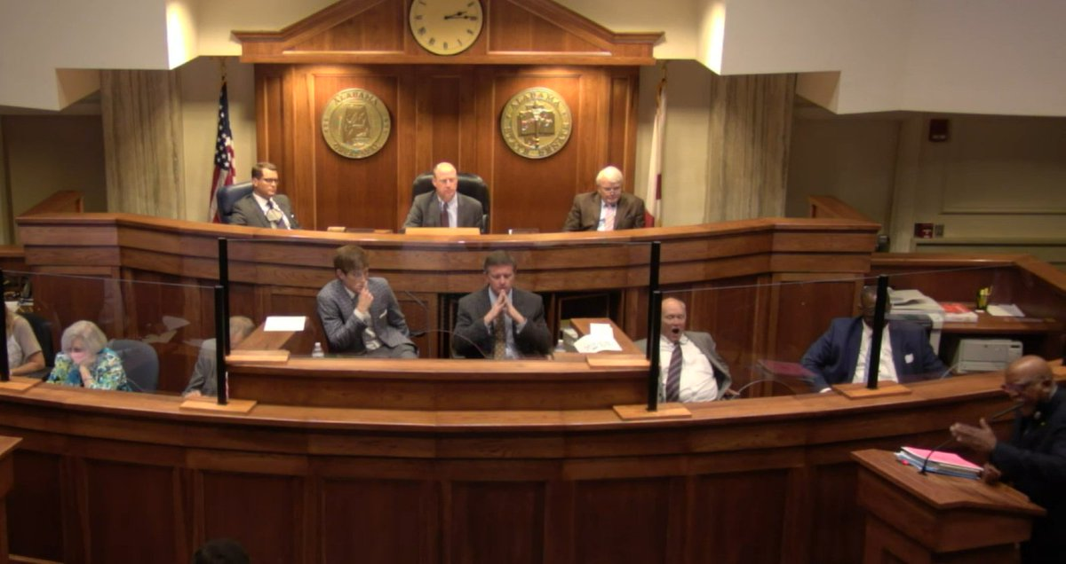 test Twitter Media - The Alabama Senate. Sen. Rodger Smitherman is pointing out that bills which benefit minorities have a hard time getting passed.   Look how bored the white people are. https://t.co/NBBBVZjXph