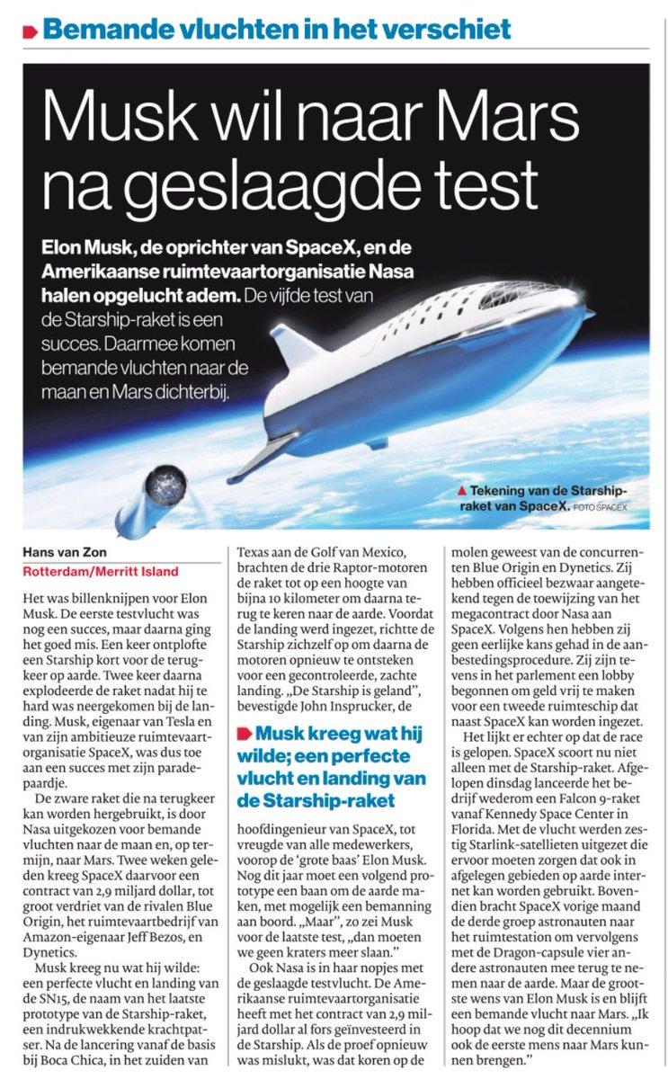 test Twitter Media - Op sommige vlakken is de techniek niet te stuiten.  Fascinerend toch!? 🤔 #spacex https://t.co/pfI1TcoZOj