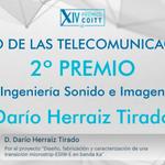 Felicidades a los 2º y 3º premio:   Darío Herraiz, de la @uclm_es.   Alberto Ramos, de la @ULPGC. https://t.co/94Fc34J1pK