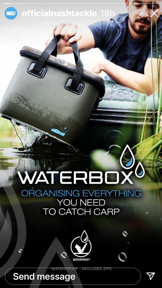 Handy WaterBoxes @<b>Nash</b>TackleUK  #carpfishing https://t.co/B10JdmK4I1