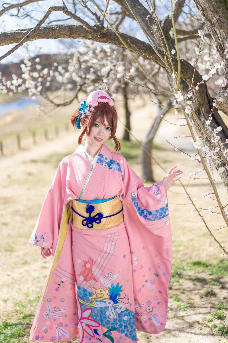 test ツイッターメディア - あっという間に梅や桜の季節が終わって気付けばGWも終わっちゃった!!  水戸の偕楽園で撮った振袖ひよりん  Photo @Shinichiro183 https://t.co/2sjmWmiUwl