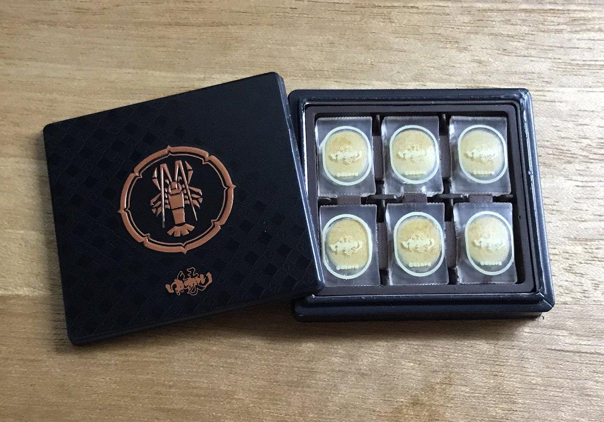 test ツイッターメディア - 銘菓ミニチュアもう一つは名古屋銘菓、坂角総本舗のゆかりでした🦐一枚一枚入ってる袋までリアルに再現されてて凄い…! https://t.co/wLNWVSujtB