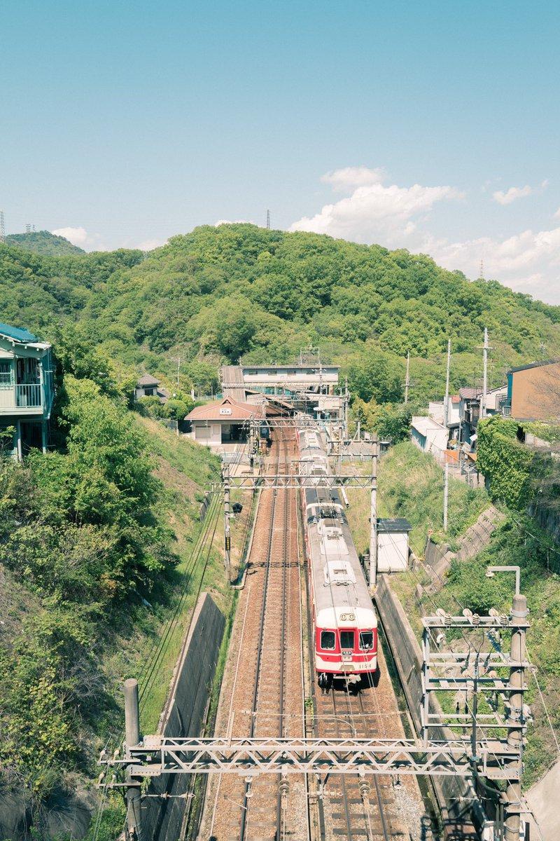 test ツイッターメディア - 神戸電鉄 鵯越駅  #leica #撮り鉄 #神電 #神戸市 https://t.co/OzbTZNJFnY