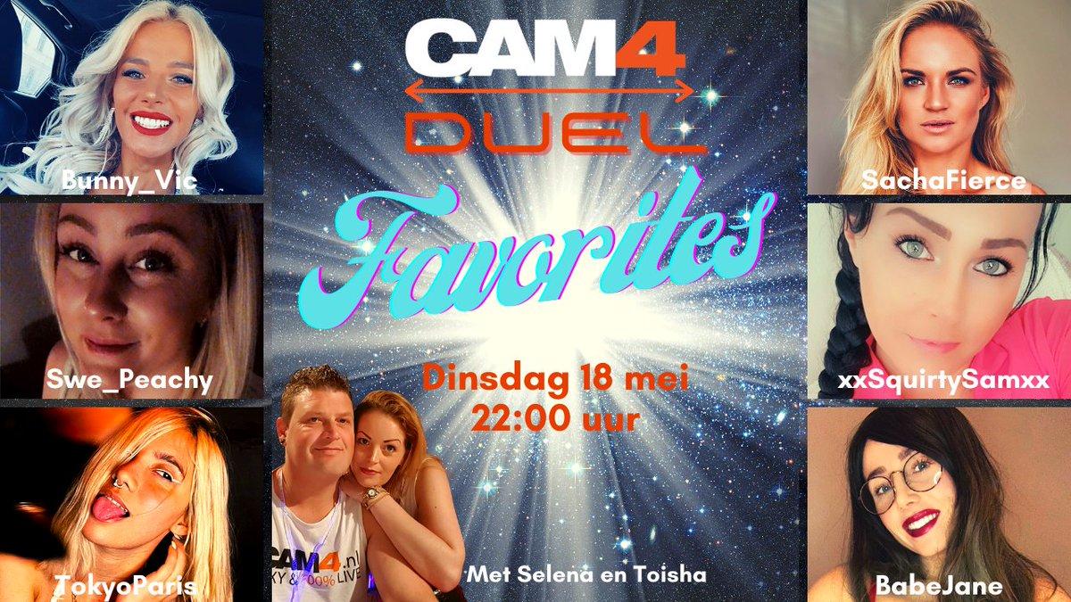 test Twitter Media - Nog maar 1 nachtje slapen & dan is het zover! Deze 6 #prachtige dames tijdens #Cam4Duel ben erbij en steun je favoriet!  https://t.co/hELfvzyS65 18/05/21 22:00 CEST Hosts @Cam4Coach_NL & @Toisha06   @bunny_viccc / @PeachySwe / @tokyoparisc / @S_xFierce / @XxSquirty & BabeJane https://t.co/za1rjB0lap