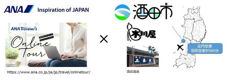 test ツイッターメディア - ANA、山形「上喜元」の「酒田酒造」を見学するオンラインツアー。日本酒試飲セット付き https://t.co/Bx7khB7h1M #ANA #ANAトラベラーズ #オンラインツアー #山形 #酒田 #日本酒 https://t.co/ICa2fjjBE4