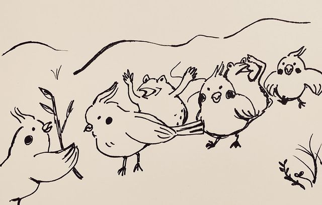 test ツイッターメディア - 深川麻衣  ▶️https://t.co/iVbQRijsgD  鳥獣戯画チックオカメインコ🐥 https://t.co/RhzYhnr76M