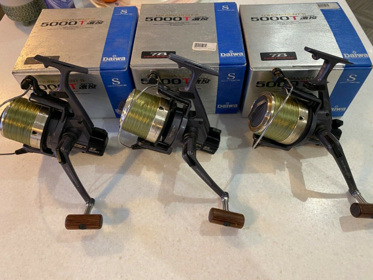 Ad - Daiwa Tournament 5000t x3 On eBay here -->> https://t.co/lNerqUbCh6  #carpfishing #fishin
