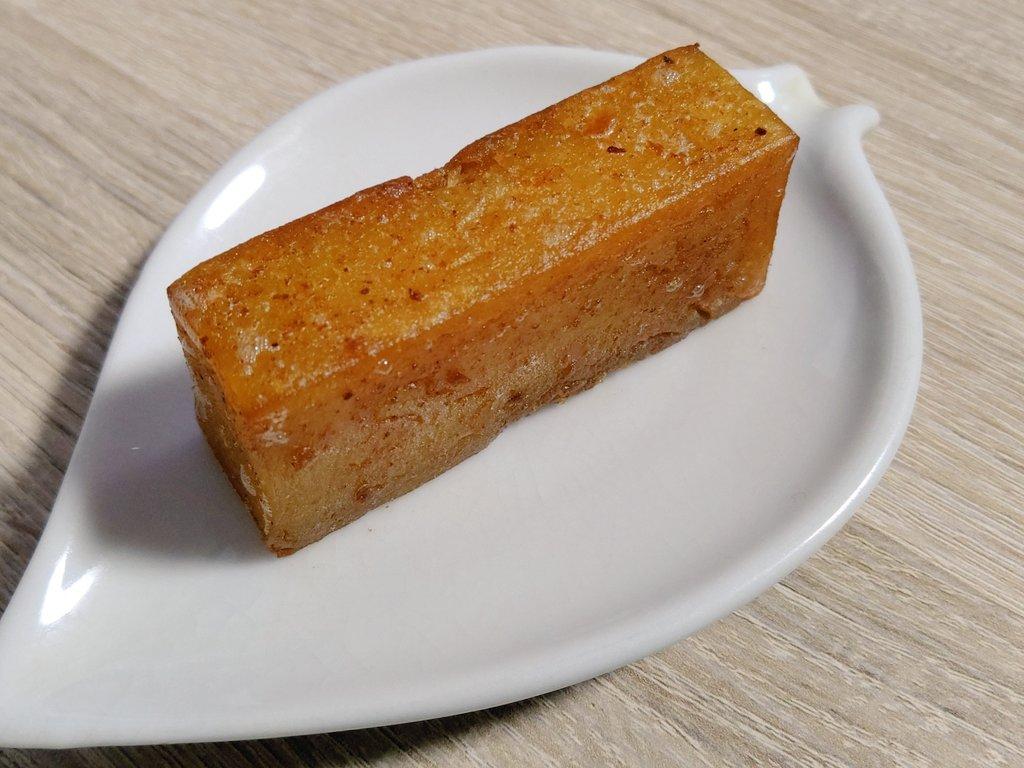 test ツイッターメディア - これは舟和の芋ようかんをカルピスバターで焼き上げたもの。 https://t.co/DfZDUOBtBL