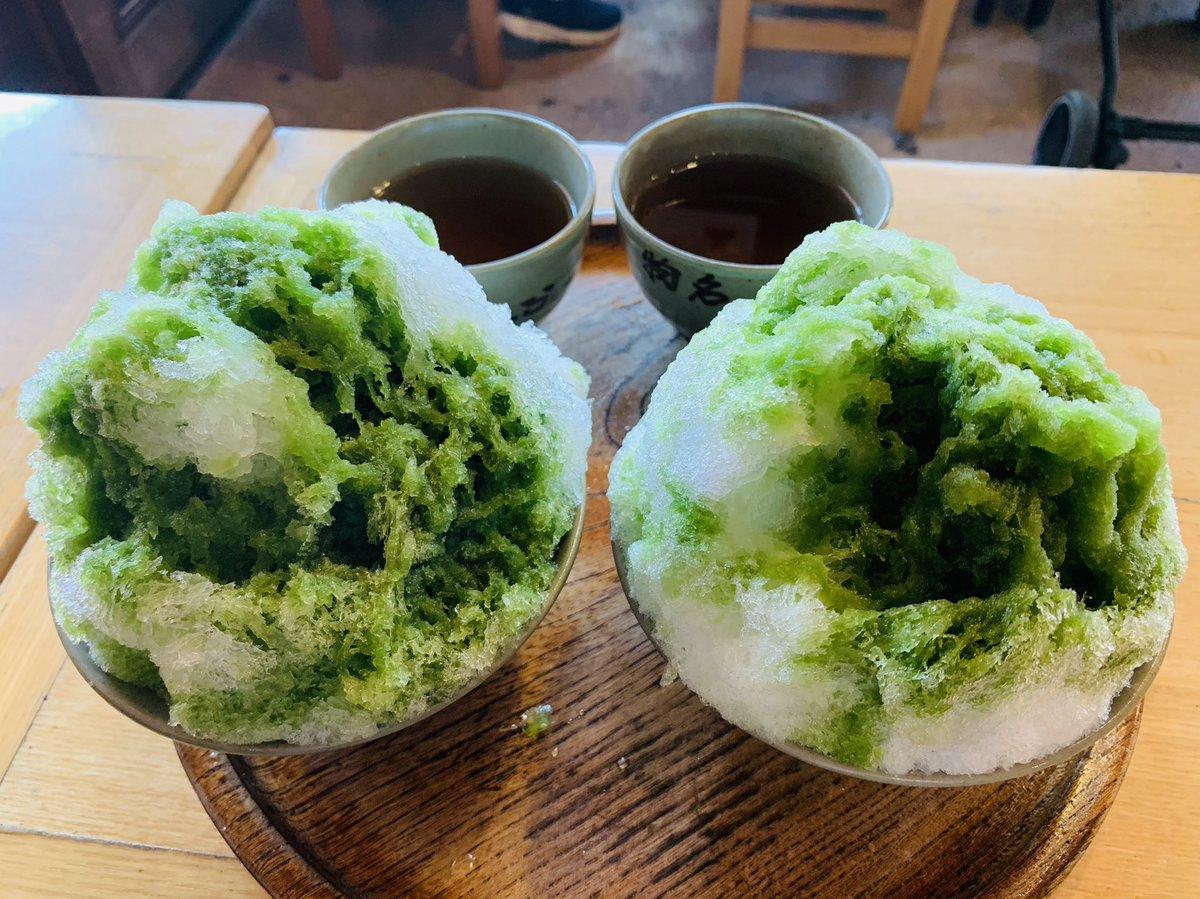 test ツイッターメディア - 赤福のかき氷は去年の7月に初めて頂いて、とっても、美味しかった! @#annm10  @森高千里 @ニッポン放送 https://t.co/C6NOgj10B8