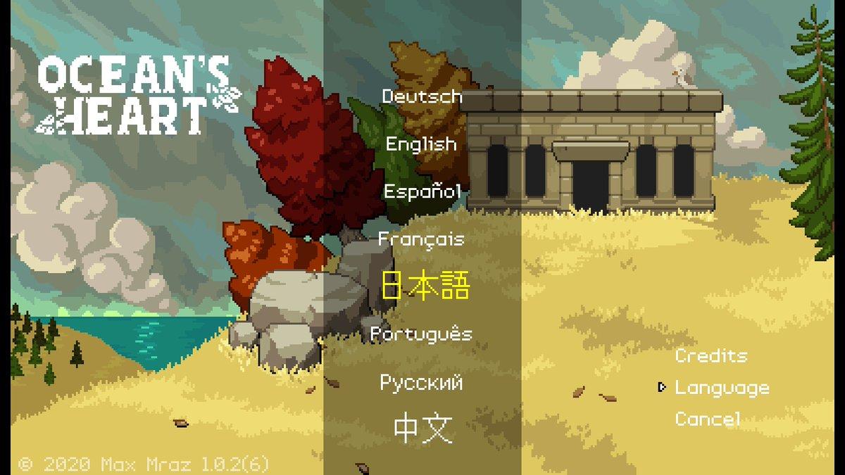 """test ツイッターメディア - もちろんニューゲームからリプレイだ!いまのところ翻訳品質はとても良いね :D  開発者のMax Mraz氏に聞いてみたのだけど、ローカライズは """"Allcorrect"""" のチームが担当してくれたそうだよ。彼らにも感謝を。  #OceansHeart #オーシャンズハート https://t.co/ODjJDSBaSB"""