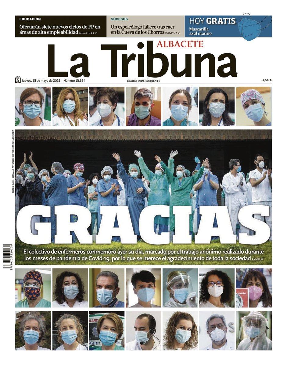 test Twitter Media - RT @TribunaAlbacete: #Albacete Buenos días, les ofrecemos la portada de La Tribuna de Albacete https://t.co/NDkgYQnKKq