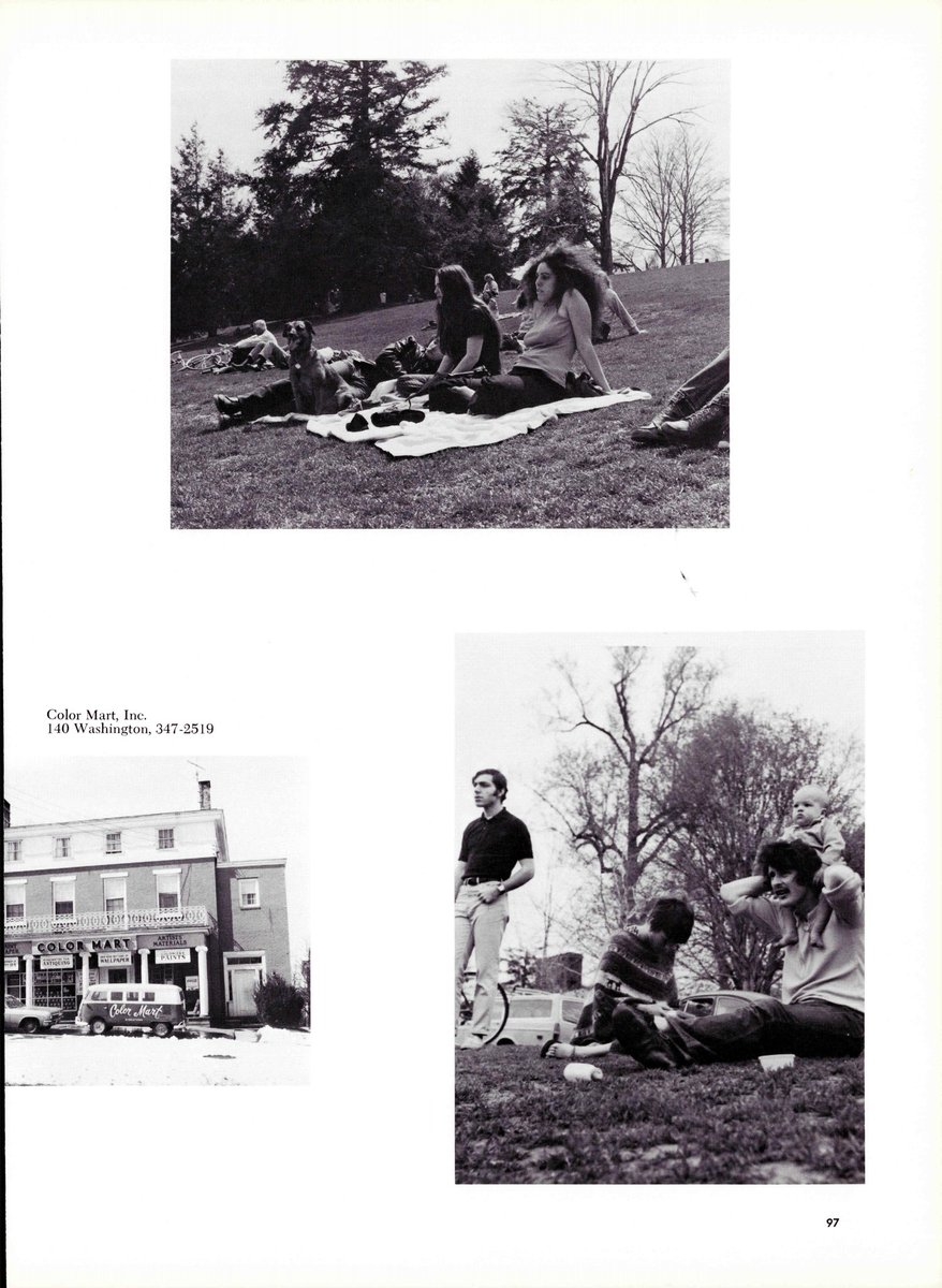 test Twitter Media - Whether it was fifty years ago (1971 Olla Pod) or last week, Foss Hill has long been the social (and literal!) center of campus #WesThroughTheYears #OllaPodridas #WesArchives #WesReunion https://t.co/D2xIy7oaqy
