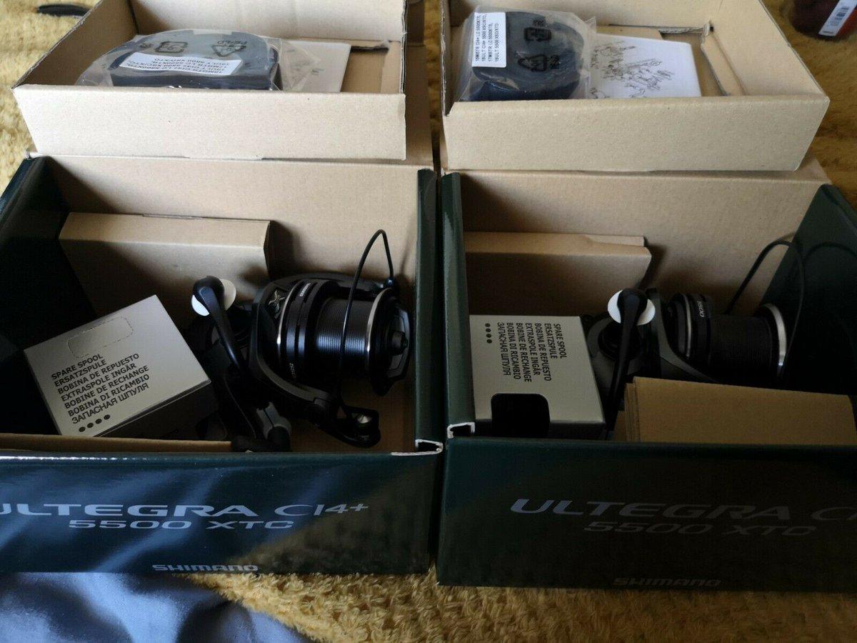 Ad - Shimano ultegra ci4 + 5500 XTC x2 On eBay here -->> https://t.co/TFEzdW0hHG  #carpfishing