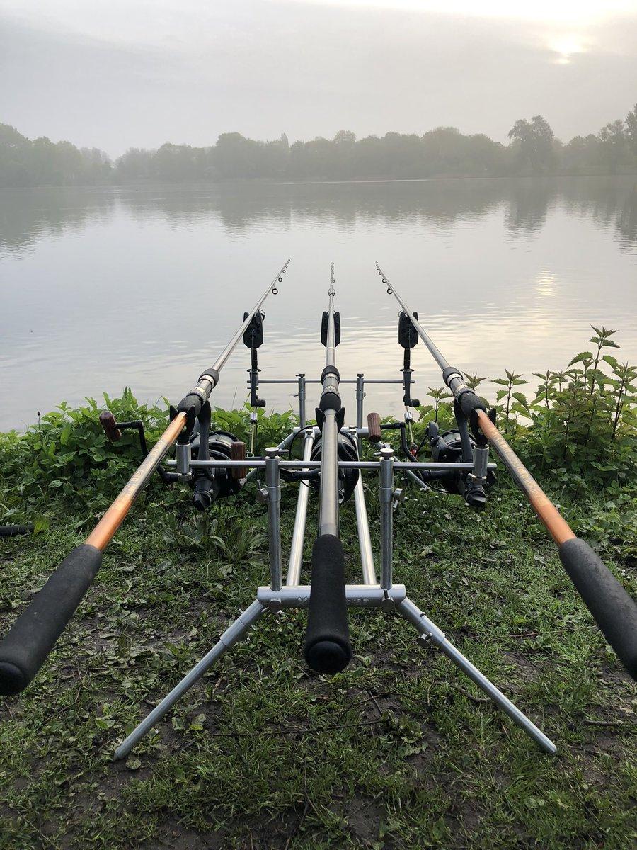 Rods are in and now wait 🎣🎣 #carp #carpfishing #karper #<b>Karpervissen</b> #vissen #catch #fi