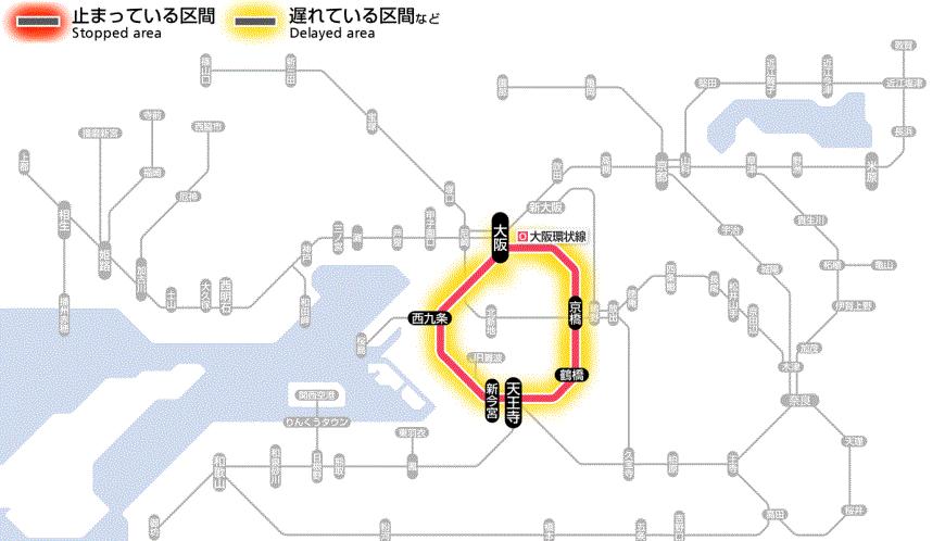 "test ツイッターメディア - ""近畿エリア 運行情報(11時08分現在) 京阪神地区 : 遅れ等が発生しています。 和歌山地区 : 遅れの情報はありません。 北近畿地区 : 遅れの情報はありません。  https://t.co/BLiP91Dx4o -- 近畿エリア 運行情報:JR西日本列車運行情報 https://t.co/6GFfp5Qh2J"