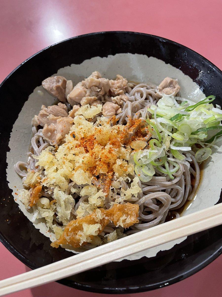 test ツイッターメディア - 馬そば深大寺で冷やしとりそば😄安定の美味しさ👍😁 #東京競馬場 #馬そば深大寺 https://t.co/j8TkP9DZ76