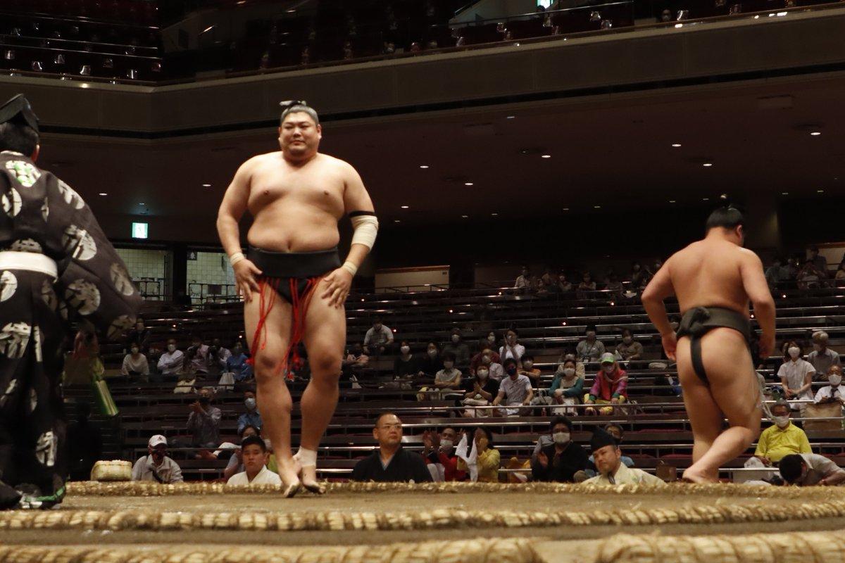 test ツイッターメディア - <九日目の様子> 幕下取組。 阿炎(5勝) 押し出し 寺沢(4勝1敗)  #sumo #相撲 #五月場所 #夏場所 https://t.co/wY9NZ3PZxo