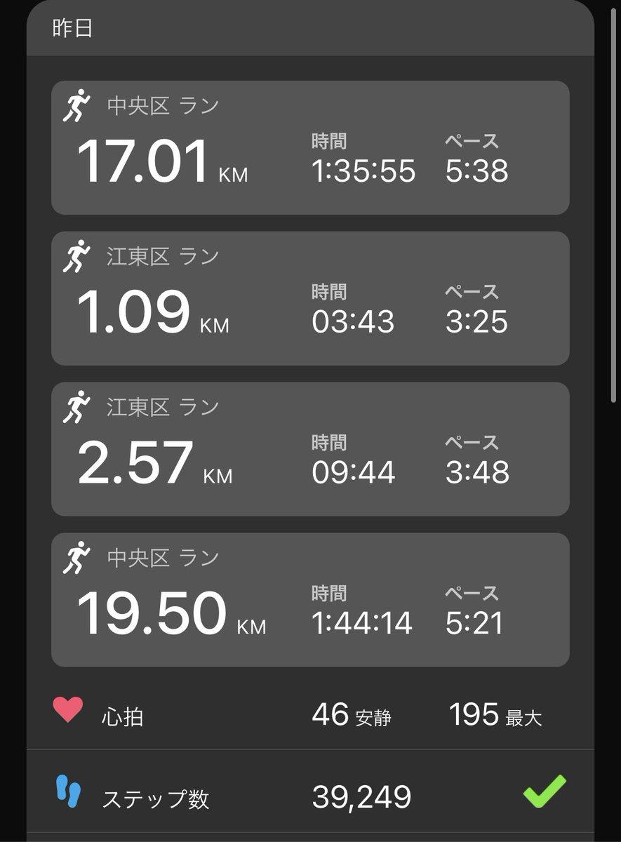 test ツイッターメディア - 日曜 400m×7 ave70 繋ぎ60-80s 等23km+夜17km 足が重い中フォームを維持する練習を入れて来週末のレースに備えました。今季は10月の金沢マラソンの出走権を活かし、スピード強化と例年より早い脚作りに励みます✨ 初訪の #クックダン さんの🍛とお惣菜は、蛸の旨みと爽やかなスパイス感が絶妙でした。 https://t.co/NWRue9nTXm