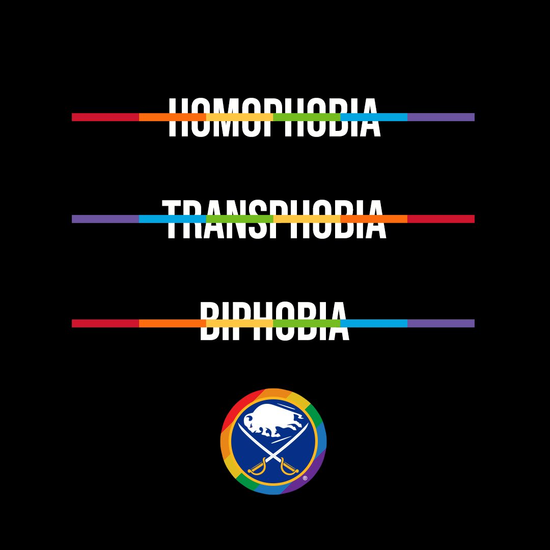 On International Day Against Homophobia, Biphobia, and Transphobia, we stand together with the LGBTQ+ community. 🏳️🌈🏳️⚧️  #HockeyIsForEveryone https://t.co/SHBxjkxZCy