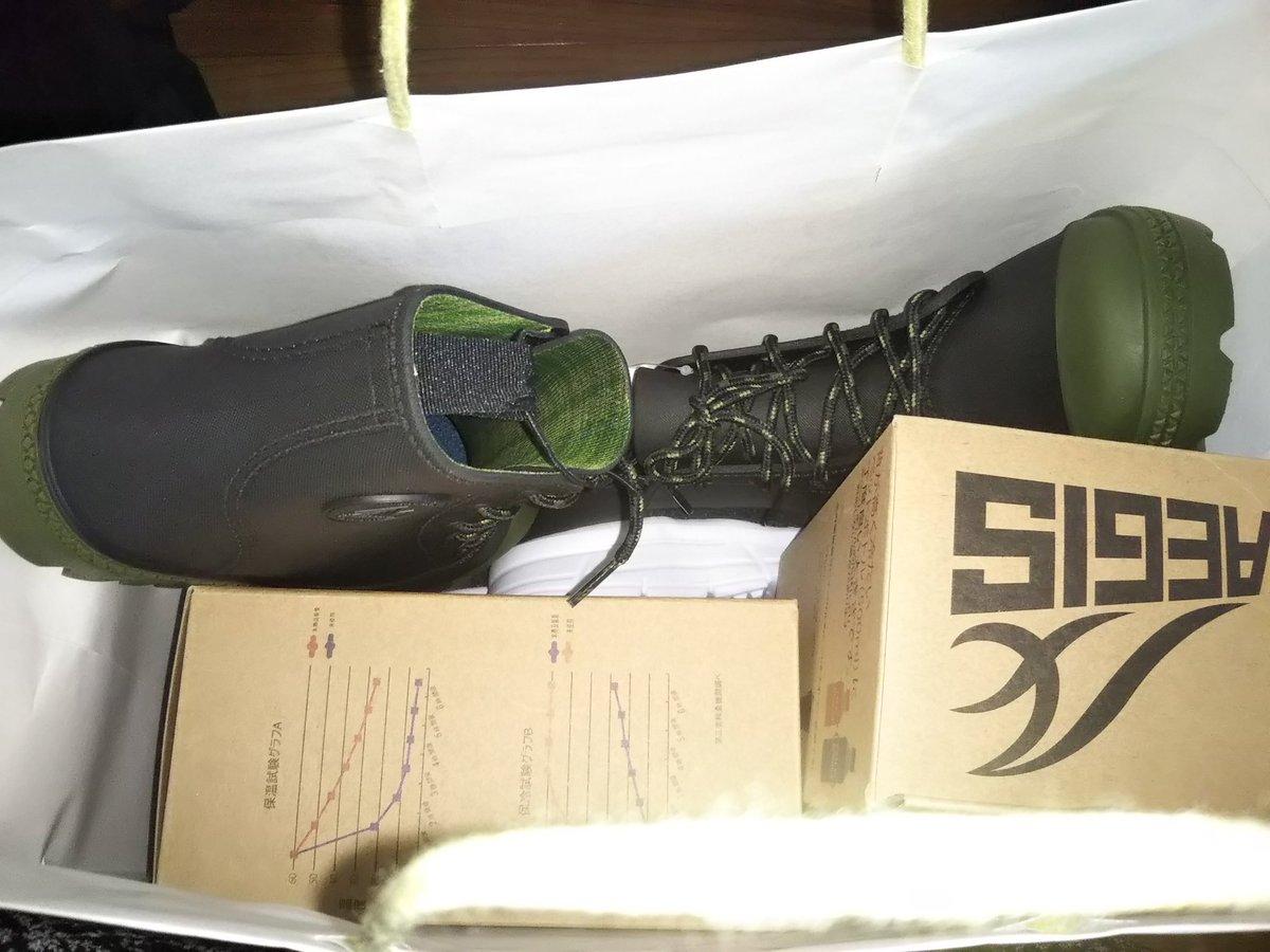 test ツイッターメディア - 今日ちょっと出勤遅くして、スカイツリーのワークマン女子に行きました! 念願の靴ばっかり手に入れてきました😆 滑りにくい靴や雨用の靴、かなり軽い靴。 撥水系の上着も欲しかったけど、サイズがなぁ~😂 https://t.co/CPqaxZbYMt
