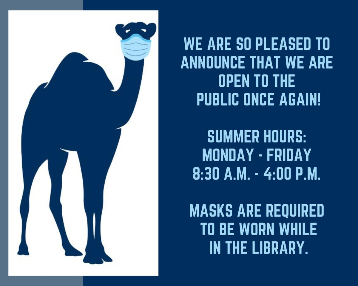 test Twitter Media - Shain Library is open to everyone! Masks are still required inside 🦠https://t.co/RgqrMJqqeX https://t.co/YMaXFnpdO9