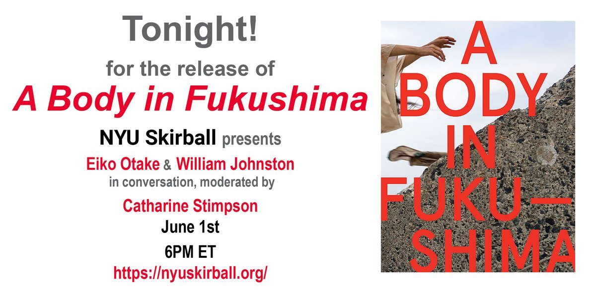 """test Twitter Media - """"Oscillating across dance and photography, movement and stillness, poetry and prose, history and the everyday, anger and hope—a stunning testament to both the beauty and sadness of Fukushima.""""—Takashi Fujitani  Free / Register: https://t.co/I6Yf2etOil #Eiko #Fukushima #Remember https://t.co/wzoPxU0noc"""