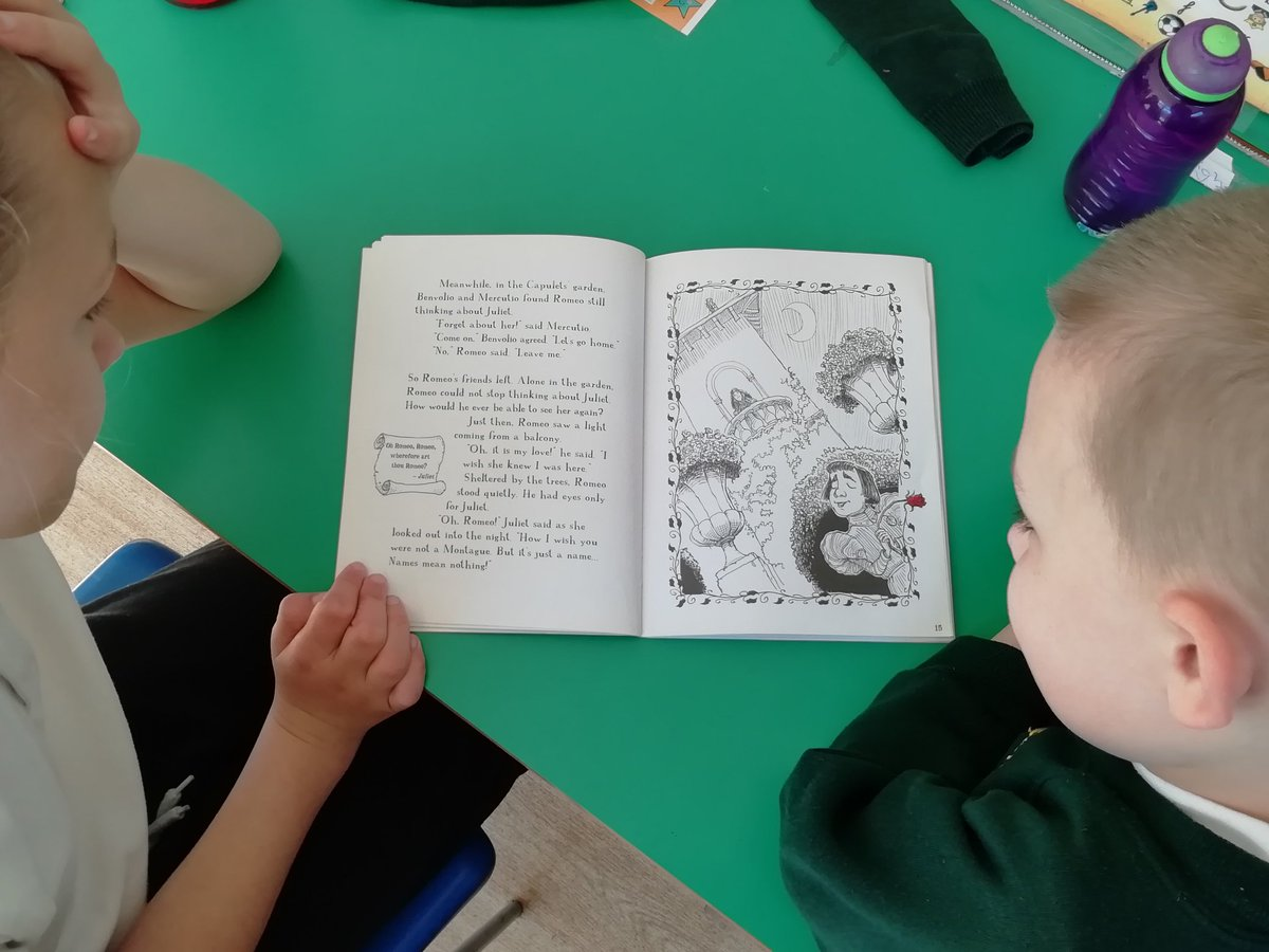 test Twitter Media - We are even trying to read Shakespeare in the Deer Class. Can you guess which ones Mrs Wilks has lent us to read? https://t.co/EwbrYszRqO
