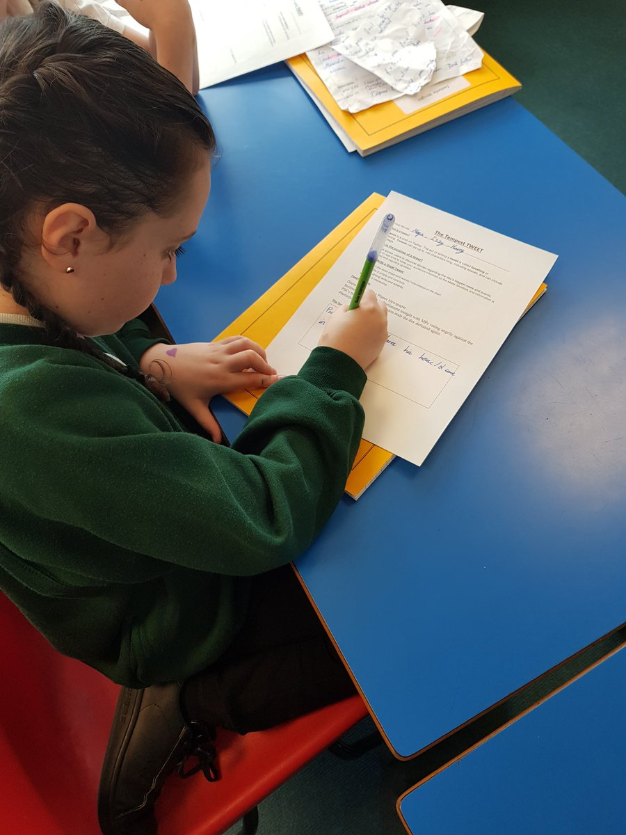 test Twitter Media - Year 6 have been studying The Tempest for Shakespeare Week at Hollywood. We have been recording news reports about the event. Prepare yourself for some 'TEMPESTuous' tweets! https://t.co/v6YlgFyO7A