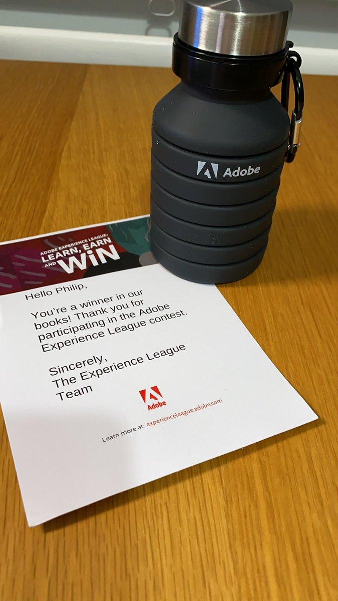 PhilipHoy: Thank you @AdobeSummit #ExperienceLeague 😎 https://t.co/WS0GhpKnt5