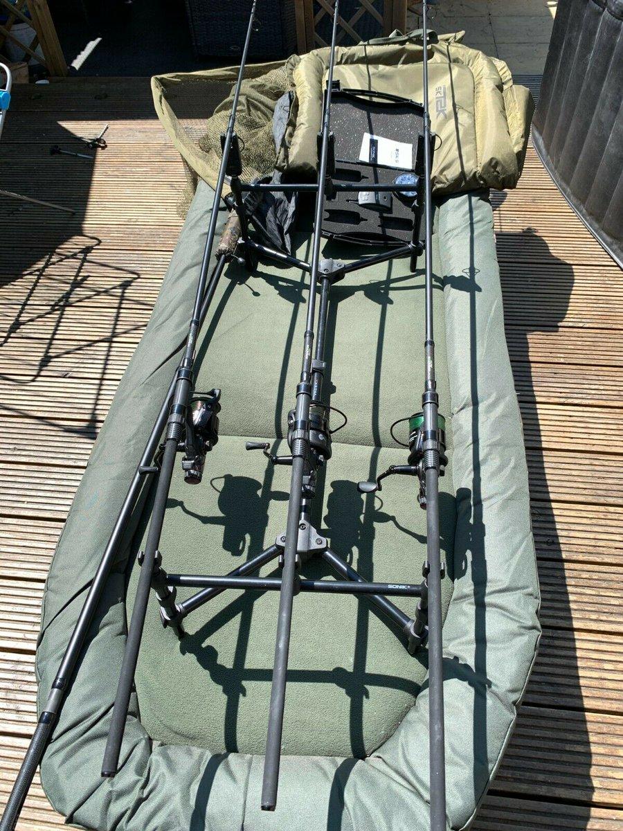 Ad - 3x Carp Rod Setup On eBay here -->> https://t.co/JPaJGle80Q  #carpfishing #fishingtackle