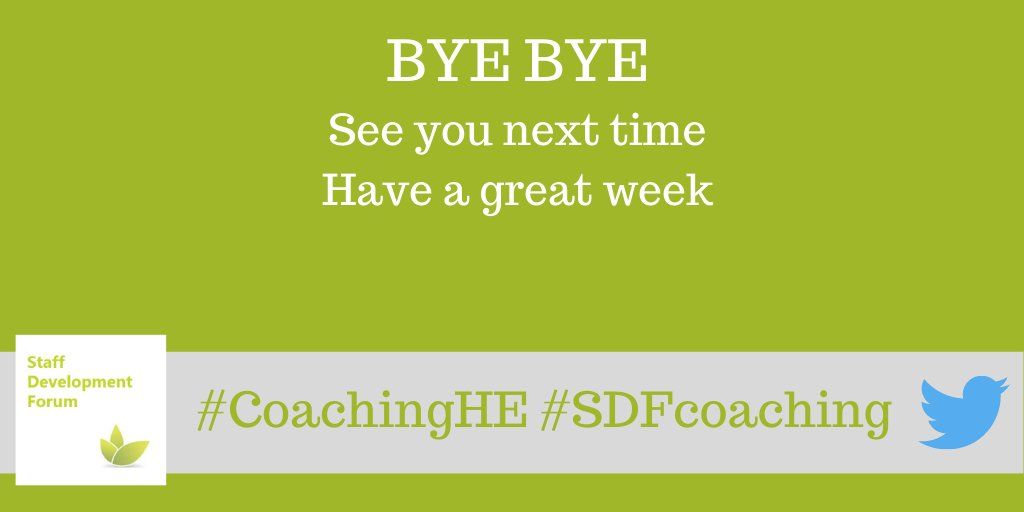 test Twitter Media - Thank you all and bye bye #coachingHE folks See you on Monday 13th September 1-2pm Have a great week #coachingHE #SDFcoaching https://t.co/9I6rCs26B5