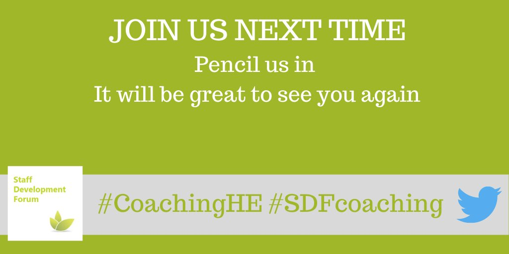 test Twitter Media - We return on Monday 13th September 1-2pm Pencil us in and join us next time The more the merrier #CoachingHE #SDFcoaching https://t.co/BKZPZU3AL5