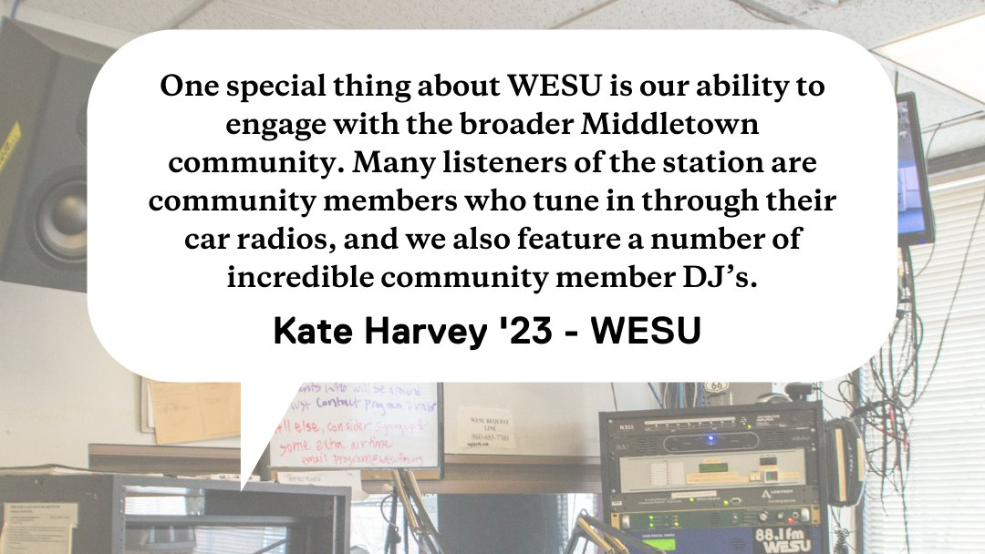 test Twitter Media - This spring, @WESUmiddletown received an Innovation Fund grant to interview @wes_alumni about their experiences in careers in audio and podcasting. Learn more about the Fund and the interview series here:  https://t.co/Po8lDxKV44 https://t.co/KBrf3Ogw1h