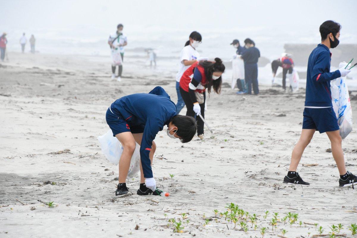 test ツイッターメディア - #海ごみゼロウィーク2021 いわきFC U-15の選手たちが #ふくしま海ごみ削減プロジェクト 春の海ごみゼロウィーク県内一斉清掃活動に参加し、いわき市の #薄磯海岸 のごみ拾い活動をさせていただきました👏  #iwakifc #いわきFC #CHANGEFORTHEBLUE https://t.co/kJYfH0wXHB