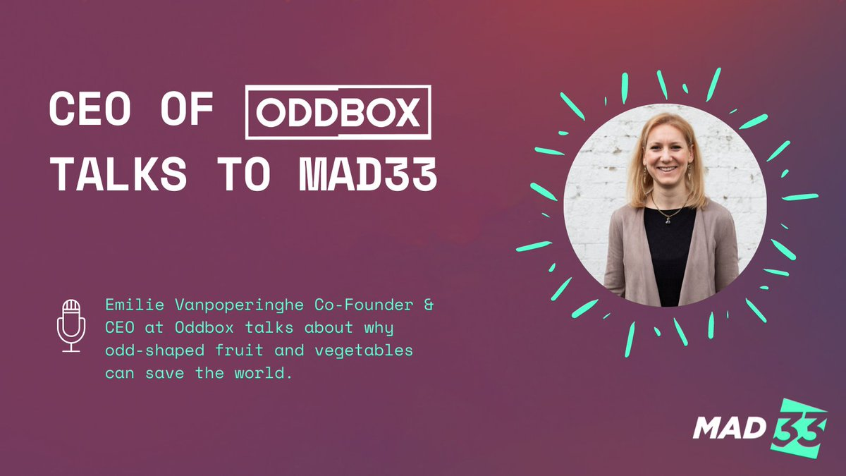 test Twitter Media - Food waste fighter @OddboxLDN has prevented 17,347 tonnes of carbon emissions and saved 1697 million litres of water. Tune into this podcast with the co-founder and CEO @emilievanpo here: https://t.co/JlvjVdrQED  #leadership #Innovative #MadeADifference #PoweredbyVenquis https://t.co/D50rhFj8Oa
