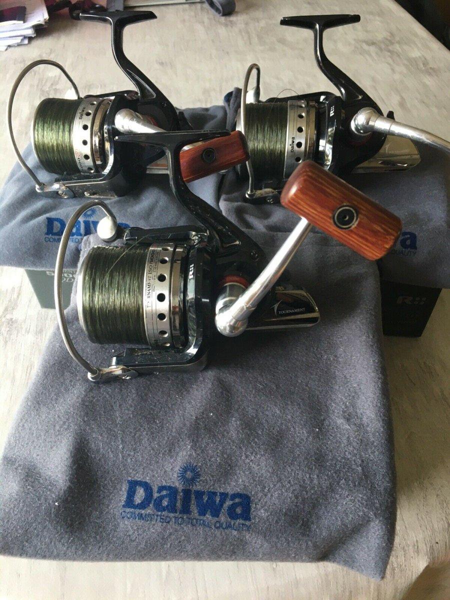 Ad - Daiwa Tournament ISO 5000 QD reels x3 On eBay here -->> https://t.co/deAprJQlXt  #carpfis