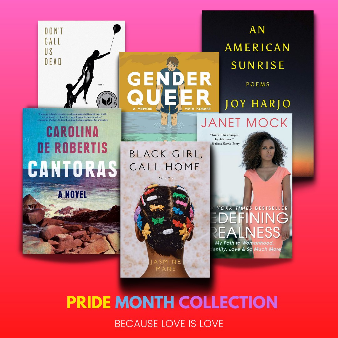 test Twitter Media - Browse our new virtual collection in celebration of pride month because love is love! You can also stop by the library to checkout books from our pride month display. Happy reading @trinitycollege! https://t.co/Nhiq8VvhRn https://t.co/63AoeRVF9w