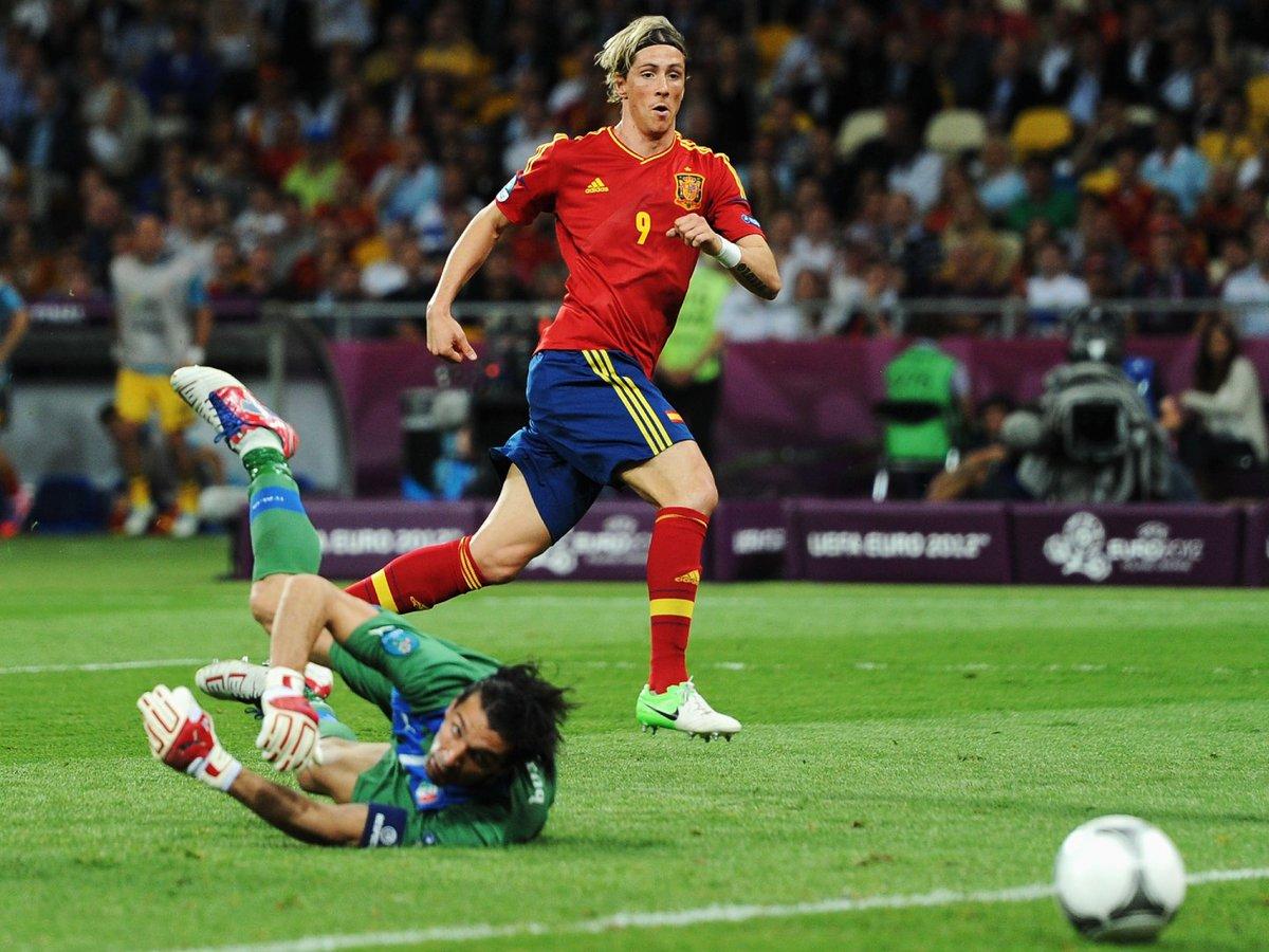 test ツイッターメディア - 🌍#EURO2020、明朝 開幕!🎊  #フェルナンド・トーレス は異なる2つのEURO決勝でゴールを記録した唯一の人物(2008、2012)。  また、同条件でアシストを記録したのは #シャビ だけ(2008、2012)。シャビのEUROでの通算3アシストは全て決勝で記録。  🏆EURO2020 開幕戦 📅6月12日⏰4:00 🆚トルコ×イタリア https://t.co/CMKl6m3IZ9