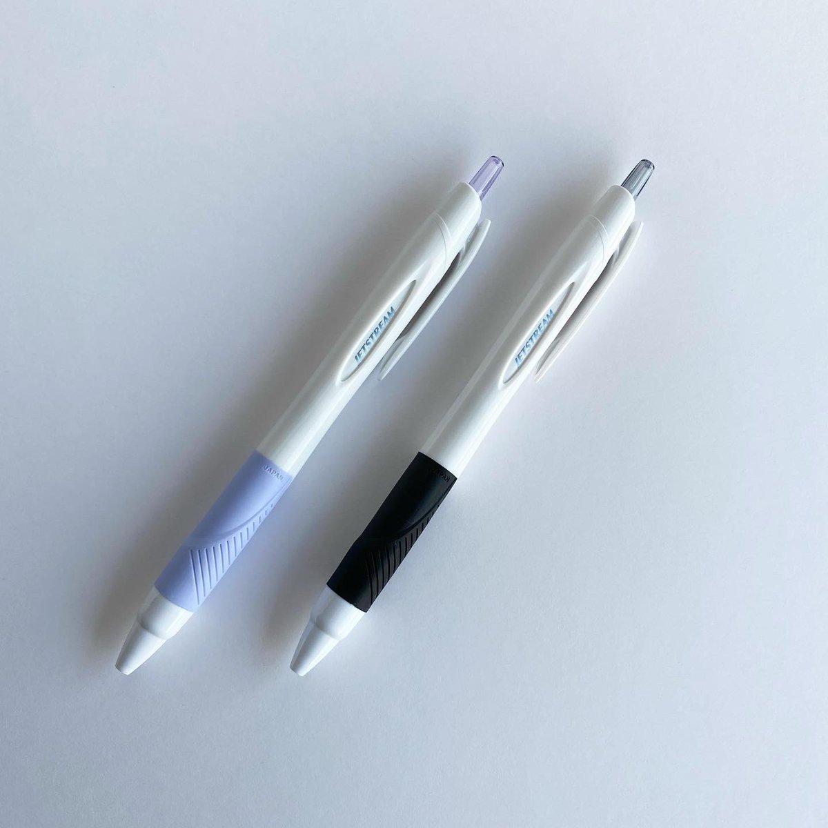 test ツイッターメディア - 人生初のノベルティ。 めちゃくちゃかわいいのができました💜🖤  ストーリーズで好きなボールペンの事前アンケートをとって、1番人気だったジェットストリーム0.5mmで🖊  21日から始まるルミネエストpopupで¥5,000以上お買い上げの方に先着でお配りします♡ https://t.co/KtOIO6jl8Y