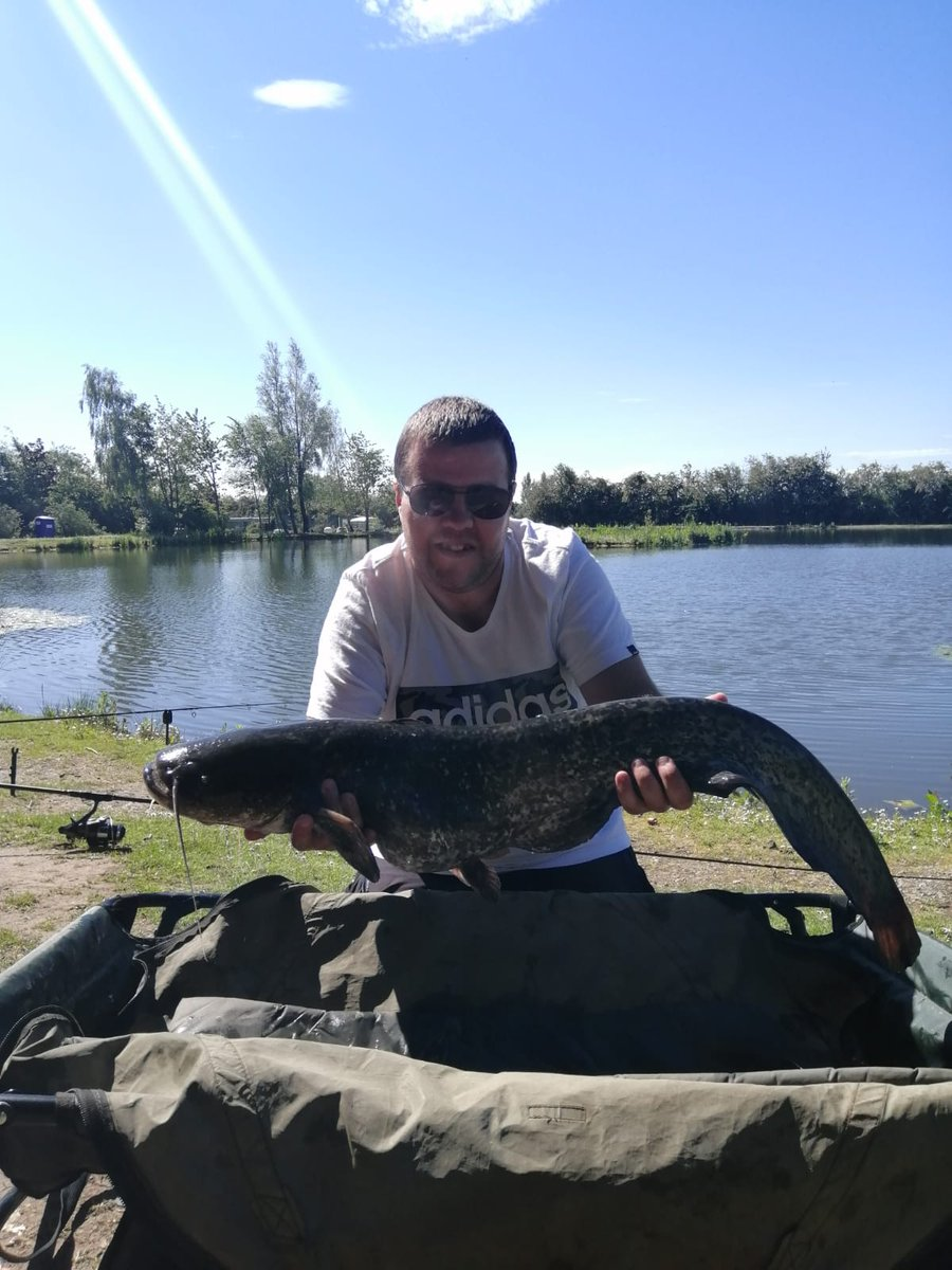 Not a monster but buzzing with my 1st <b>Catfish</b> #carpfishing #fishing #<b>Catfish</b> https://t