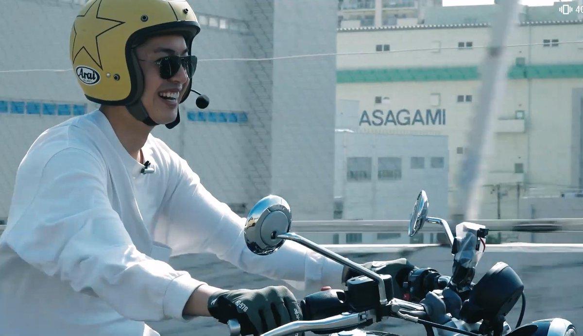 test ツイッターメディア - ✨「大野拓朗のおもいっきりかっこいいシリーズ」✨  その223 「空、風、バイク」  楽しさが伝わってきました😊✨ バイクに乗ってる時の笑顔も輝いてますね❣️  #大野拓朗 #motonavi https://t.co/dbXOXSZOoi
