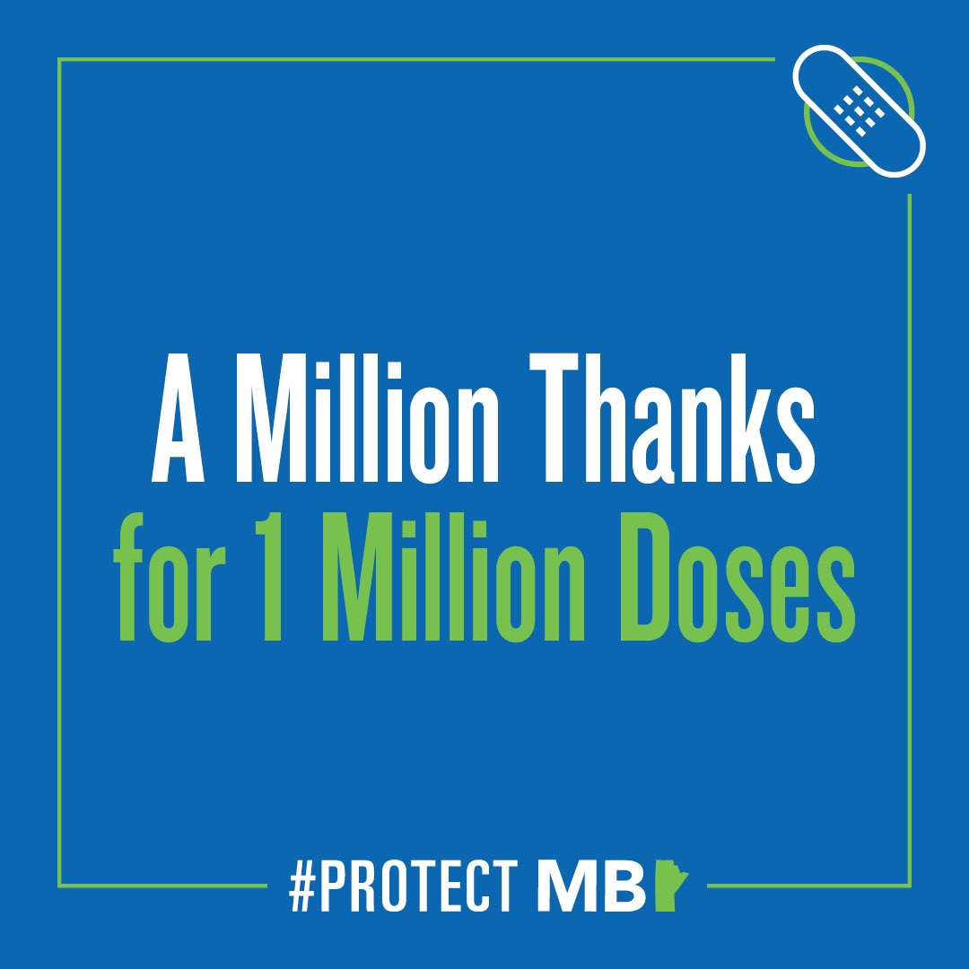 test Twitter Media - Manitoba has now administered more than one millions doses of #COVID19Vaccines across the province! Thank you for doing your part to #ProtectMB. Share your vaccine story, immunization experience to be celebrated, or thanks to all who made it possible at: https://t.co/7knEZI03pR. https://t.co/QEAmuAsW6T