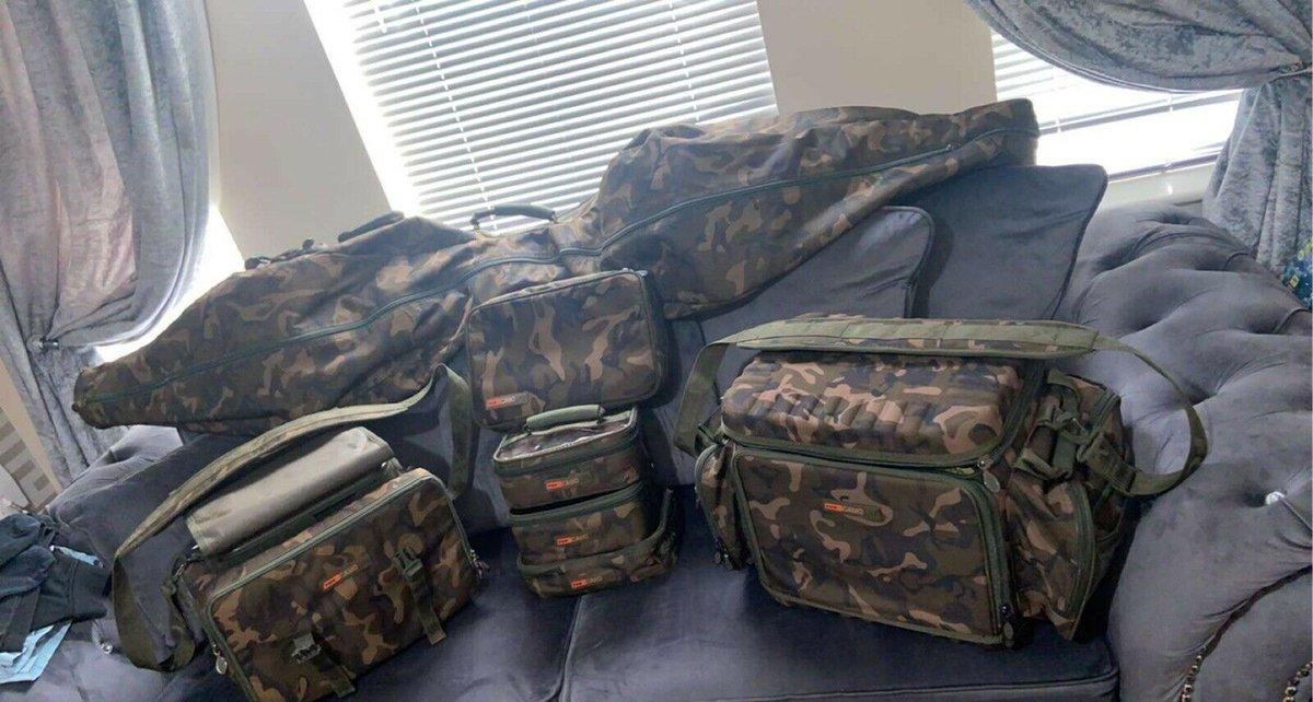 Ad - Fox Camolite luggage On eBay here -->> https://t.co/IEWlNulDPd  #carpfishing #fishingtack