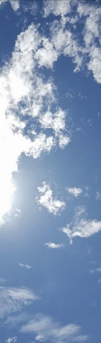 test ツイッターメディア - 肉眼ではすごく綺麗に彩雲が見れるのに写真に収めると陽の光が邪魔して飛んじゃっている、残念。 https://t.co/80bcURgxtH