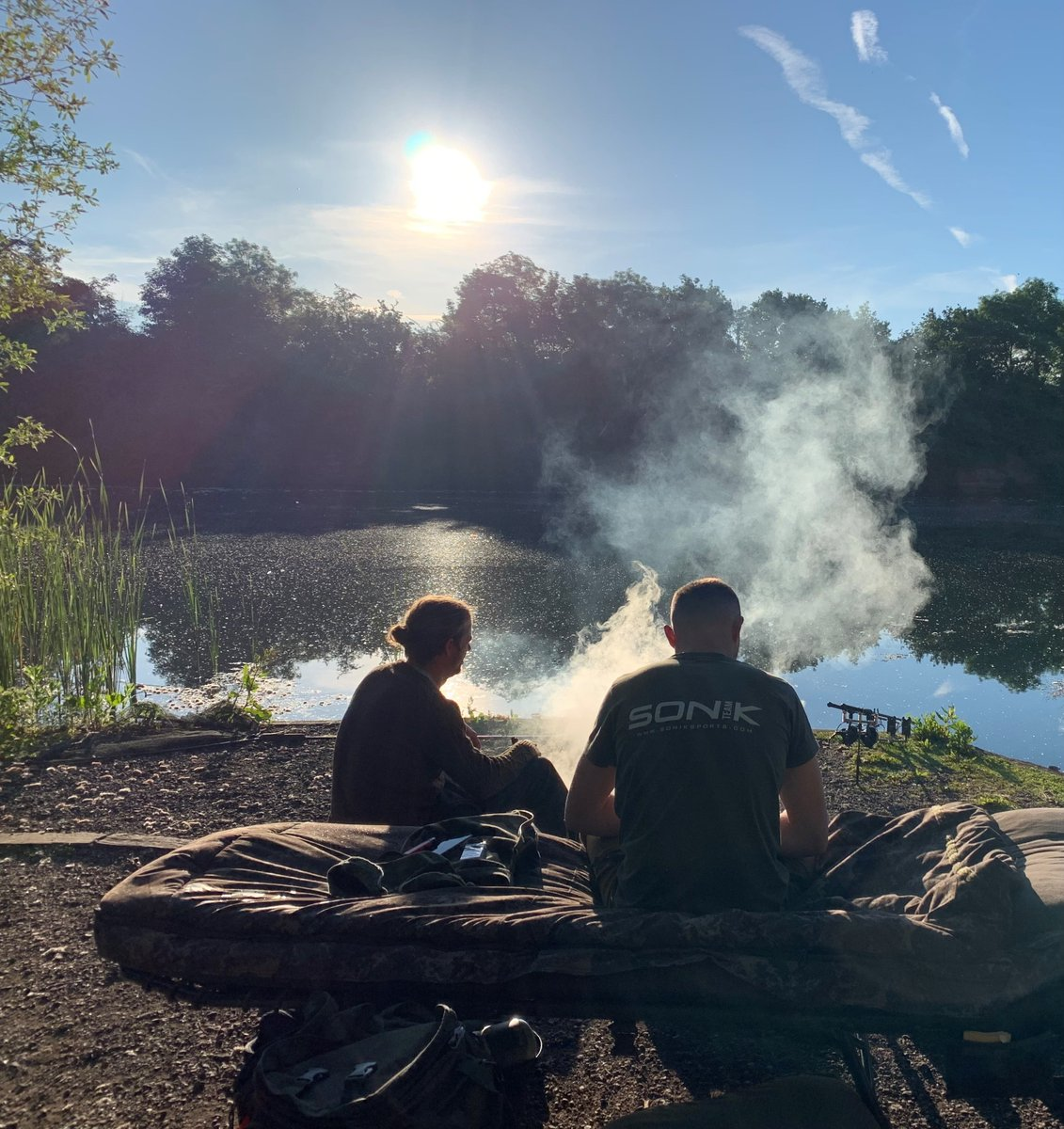 How's your <b>Weekend</b> going... rods out, kettle on we hope. #Carpy #Sonik #Carpfishing #Itsthe<b