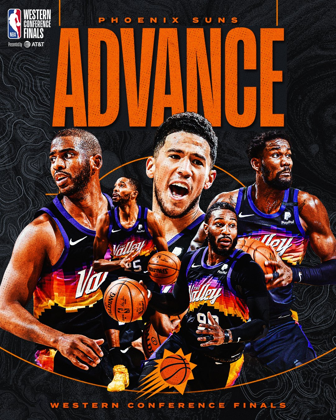 The @Suns defeat Denver 4-0 and advance to the #NBAWCF presented by AT&T! #NBAPlayoffs #ThatsGame https://t.co/dzdn1NyKZF