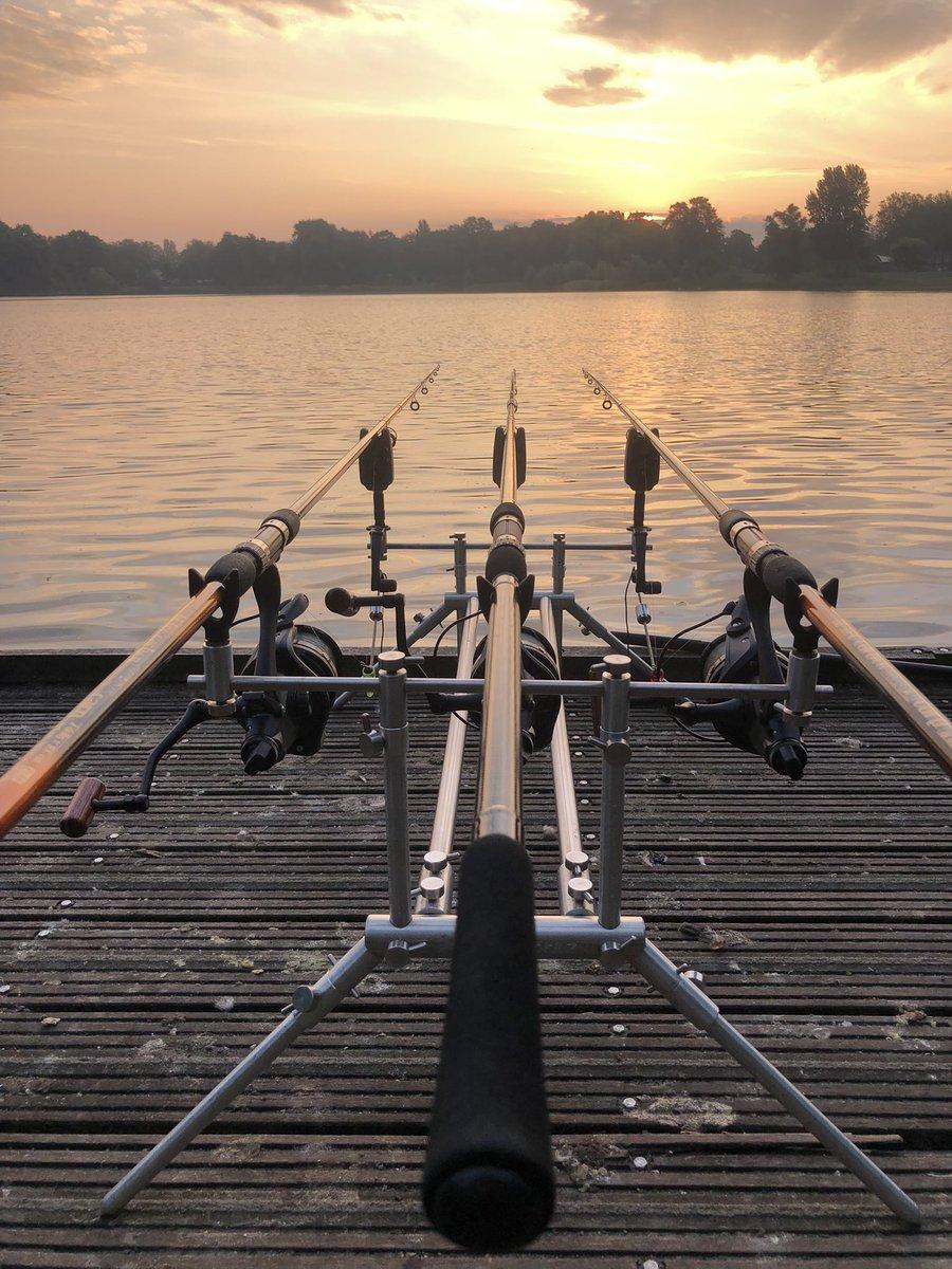 Traps are set. Game in 🎣🎣 #carp #carpfishing #fishing #vissen #<b>Karpervissen</b> https://t.c